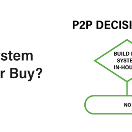 Purchase to Pay Build or Buy decision tree