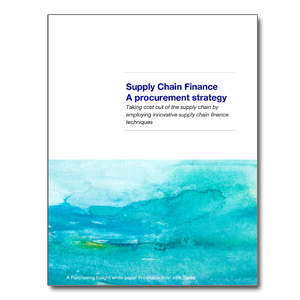 Supply Chain Finance - A Procurement Strategy